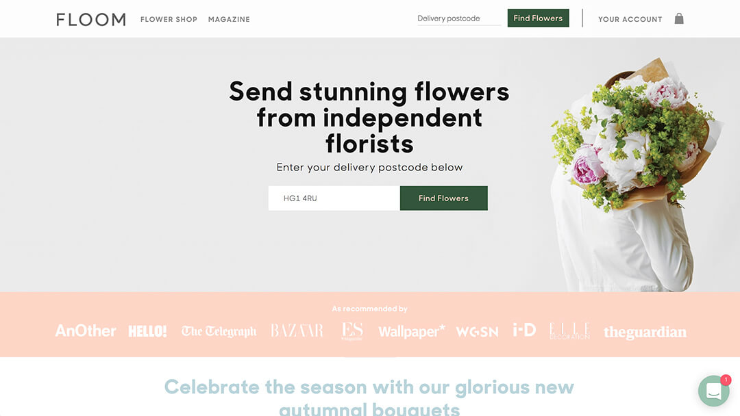 Floom - Independent Florist Marketplace