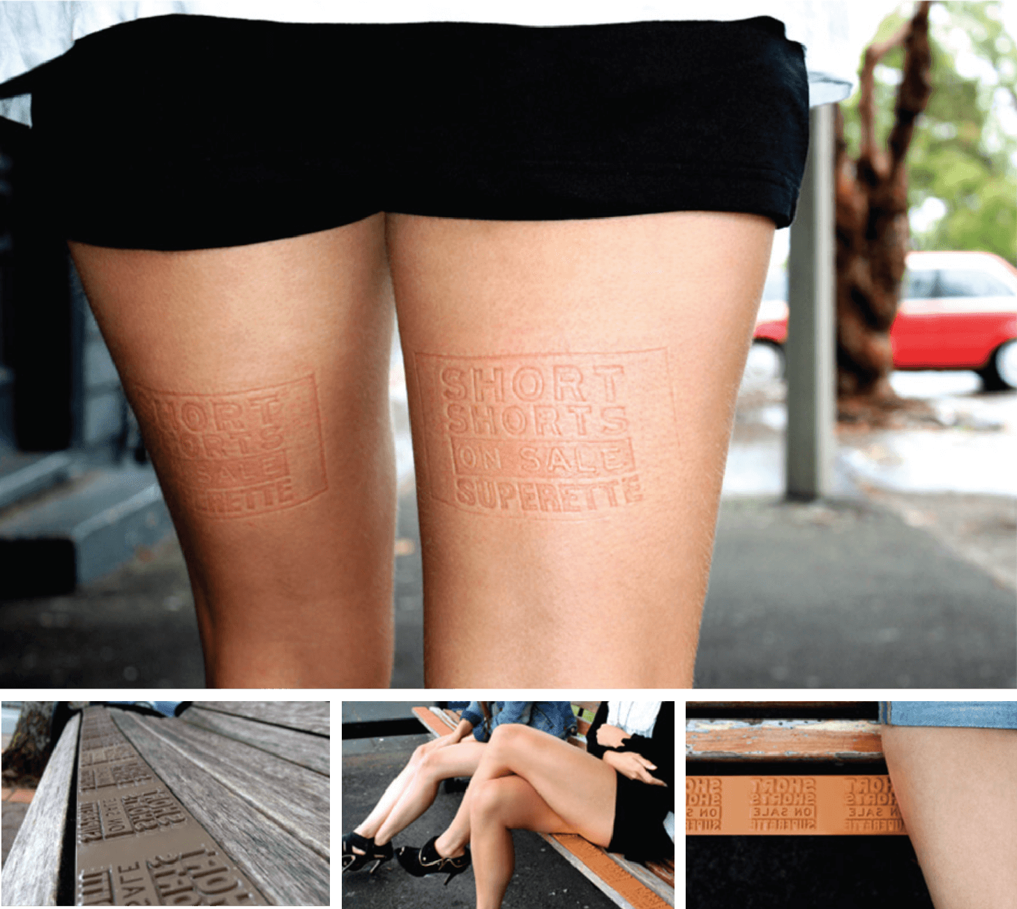 Short Shorts Leg Stamps - Superette